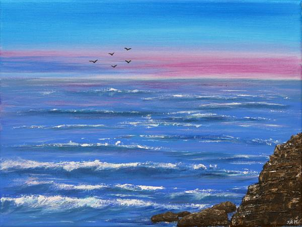 Seascape by Jacqueline Moore