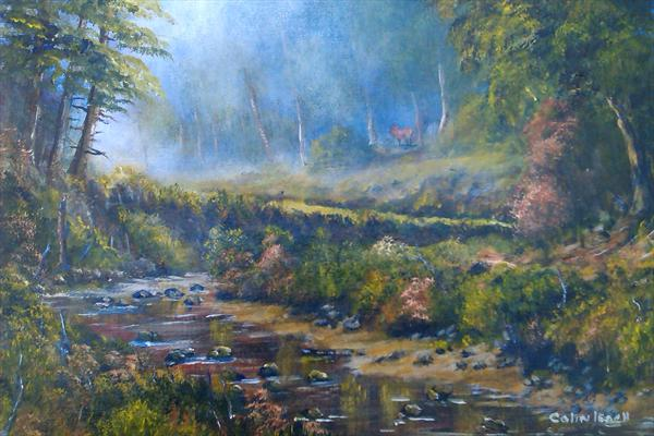 Misty Wood by Colin Leach