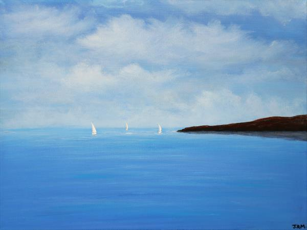 Summer Sailing by Jacqueline Moore