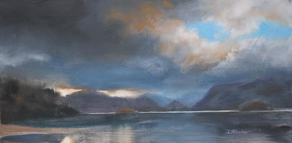Light over Borrowdale by David Barber