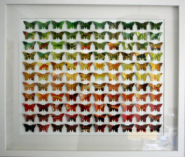 3D Autumn Butterflies