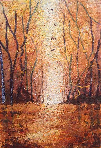 Autumn coming by Teresa Tanner