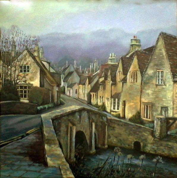 Castle Combe Village, Wiltshire by Monika Umba