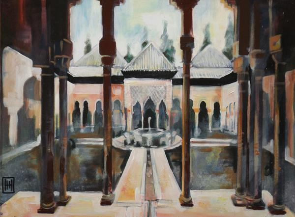 The King's Court - Alhambra - Granada by Humph Hack