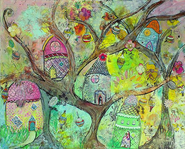 Tree Houses by Tracey Unwin