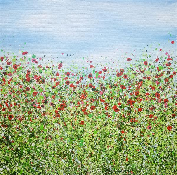 Burst Of Wild Poppies #2 by Lucy Moore