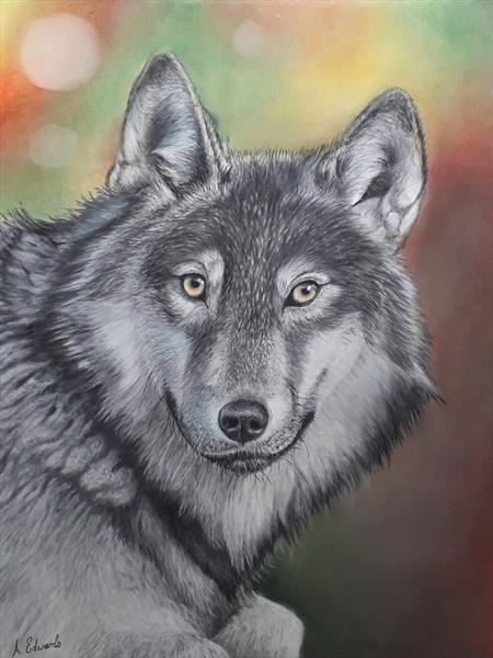 Grey Wolf by Anthony Edwards