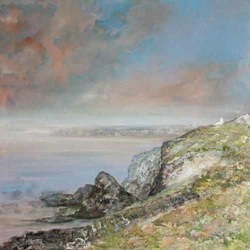 Huer's Hut Newquay by Diane Griffiths