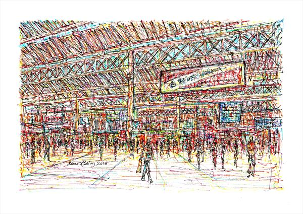Victoria station London by Brian Keating ANCAD