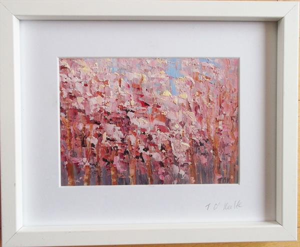 PINK TREES by Therese O'Keeffe