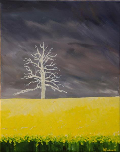 Storm Brewing by Kathryn Sassall