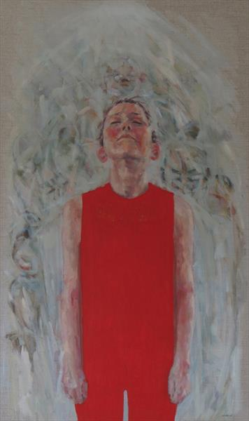 Figure in Red by Jacqueline Westland