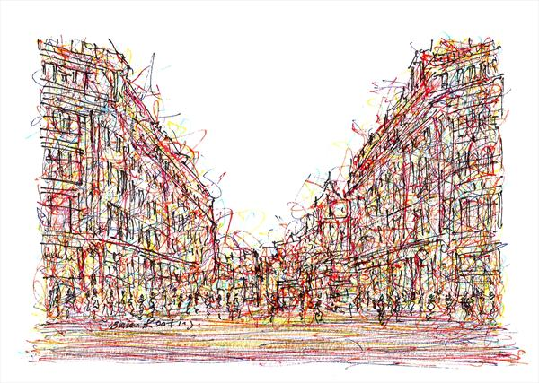 Oxford Street - London by Brian Keating