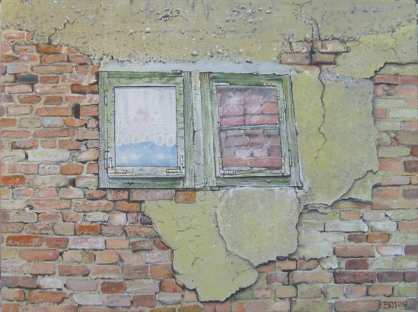 Bricked Up Pane by Ben Hardman