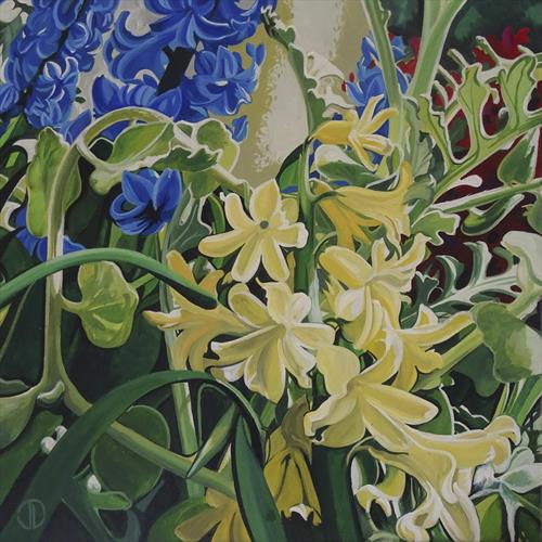 Warm Yellows And Cool Blues by Joseph Lynch