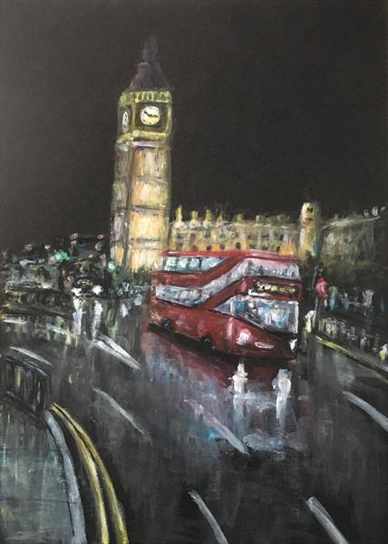 Elizabeth tower (Big Ben ) by Damion  Maxwell