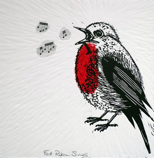 Fat Robin Sings by Mary Collett