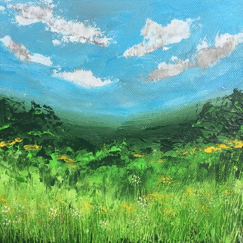 Country Meadow by Lucy Moore