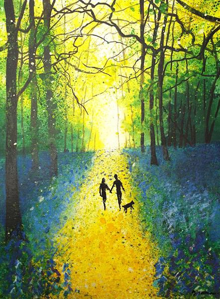 Our Woodland Stroll by Teresa Tanner
