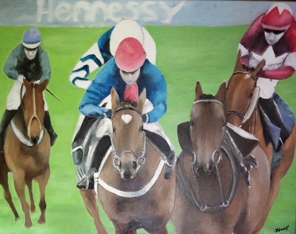 Hennessy Gold Cup by Helen Reynolds