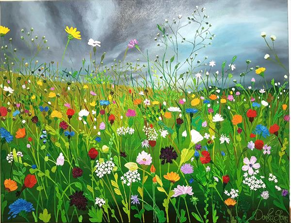Colors of the Meadow by Donka Stone
