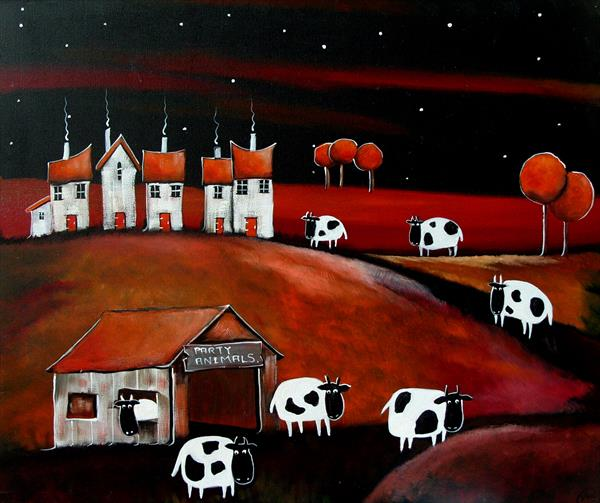 Welcome to the barn by Yvette Metcalf