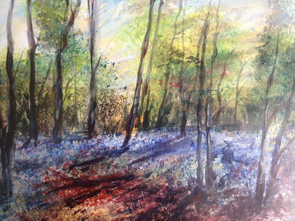 Bluebell Trees by Mike Kent