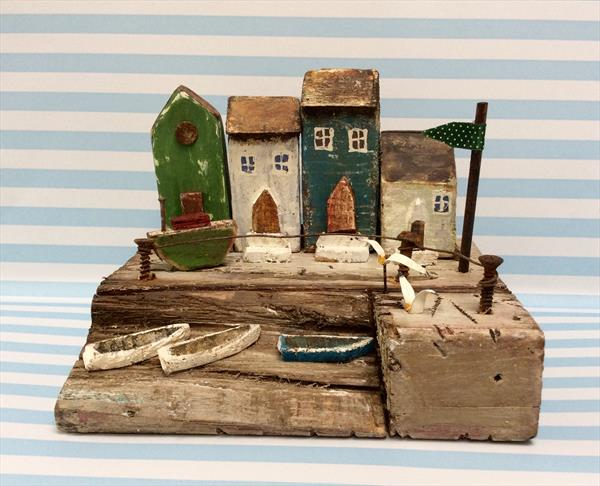 Quiet Little Harbour by Roma Mountjoy