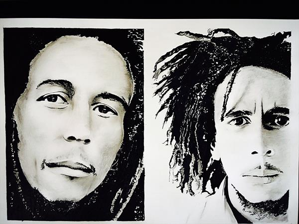 BOB MARLEY  by Hanif Saeed