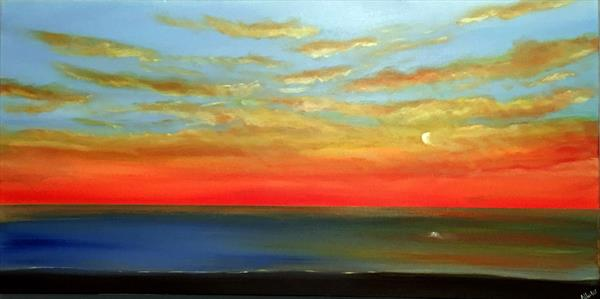Warmth Of The Sunset by Aisha Haider