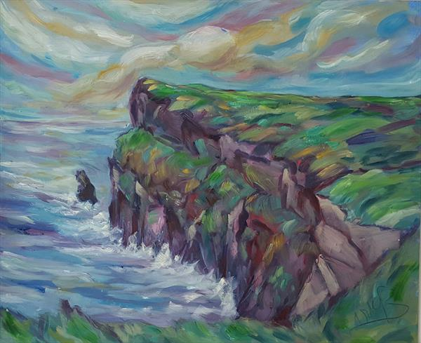 The Cliffs of Moher by niki purcell