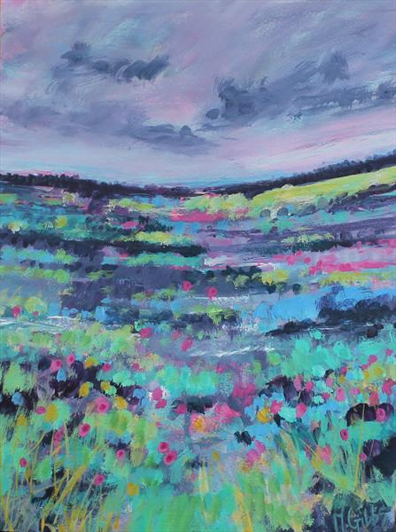So Much Colour in the Land by Michelle Gibbs
