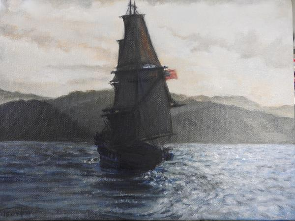 Seascape from a movie 'In the heart of the sea' by Tatiana Wilson