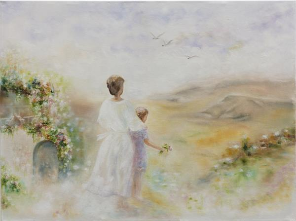 White valley inspired by Willem Haenraets by Mila Moroko