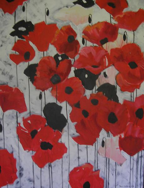 Poppy by Dawn Ogden-white