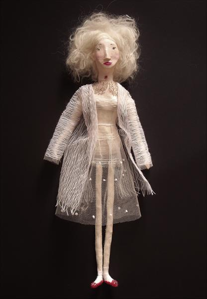 Sculpture Doll/ White 03 by Ina Cheri