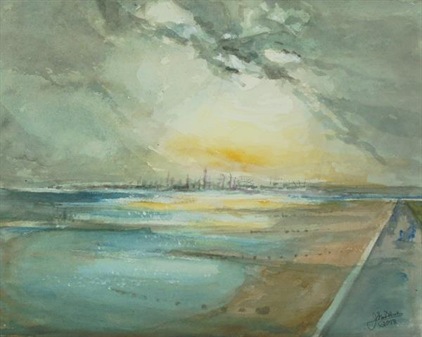 FAWLEY EVENING by John Davies