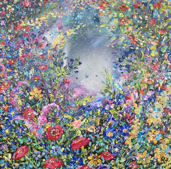 Moonlit Meadow  by Janice  Rogers