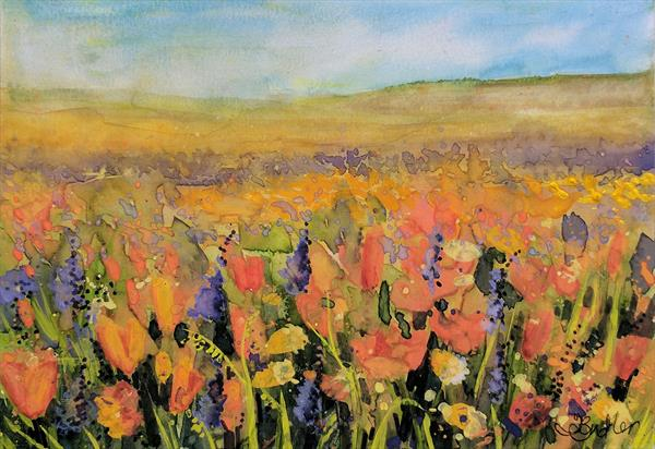 Prairie Poppies by Tracy Butler