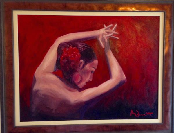 Flamenco VIII by Mark Bennett