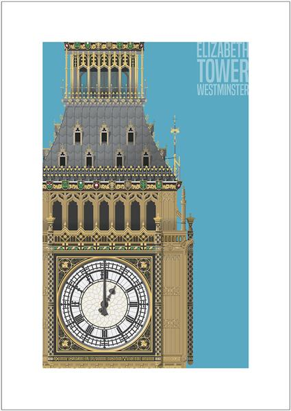 Elizabeth Tower, Westminster by Charlie Edwards