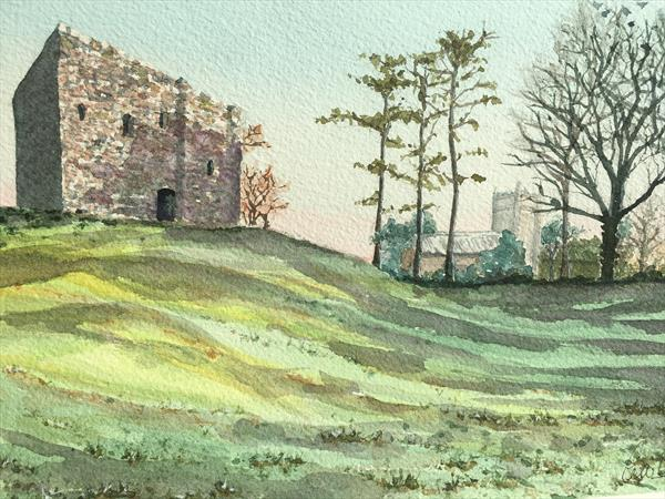 Lydford Castle by Peter Blake