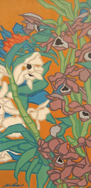 Orchids (2010) by Malcolm Warrilow