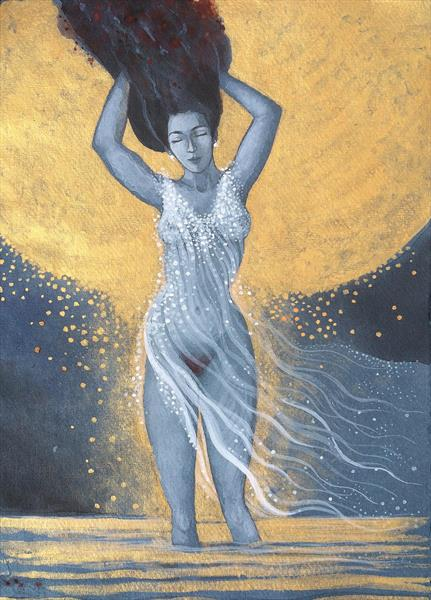 White Breeze over Gold by Phyllis Mahon