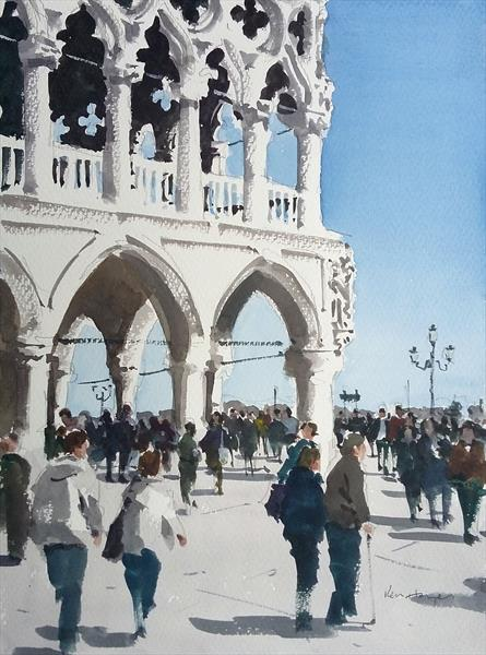 Palazzo Ducale, Venice by Ken  Hayes