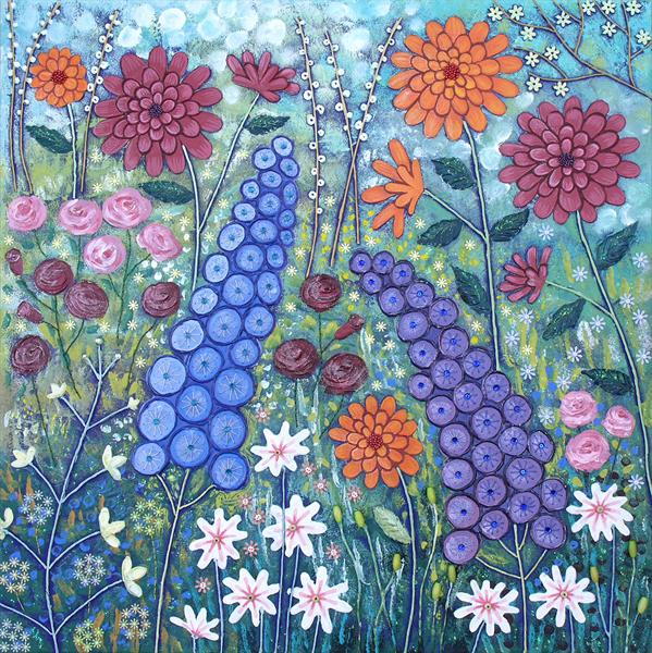 Floral Glory by Josephine Grundy