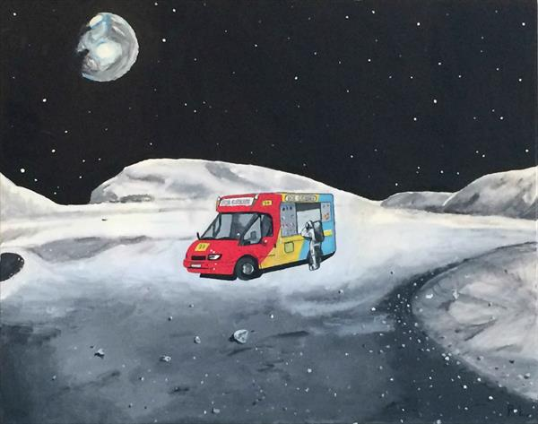 Ice cream on the Moon