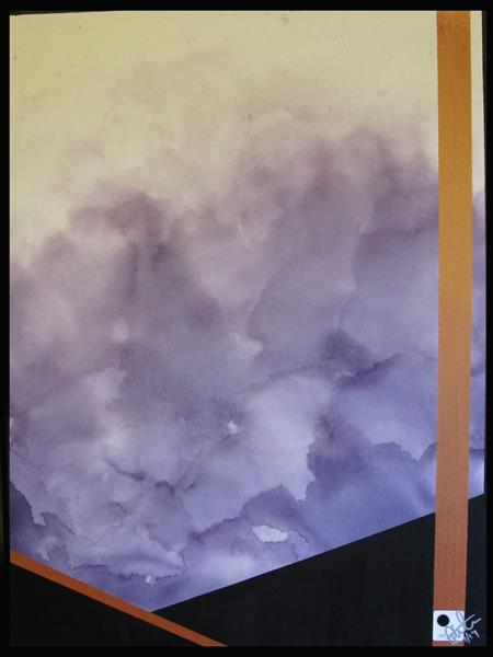 GRAYSCALE CLOUDS (DOT. art movement) by Rob Thornham