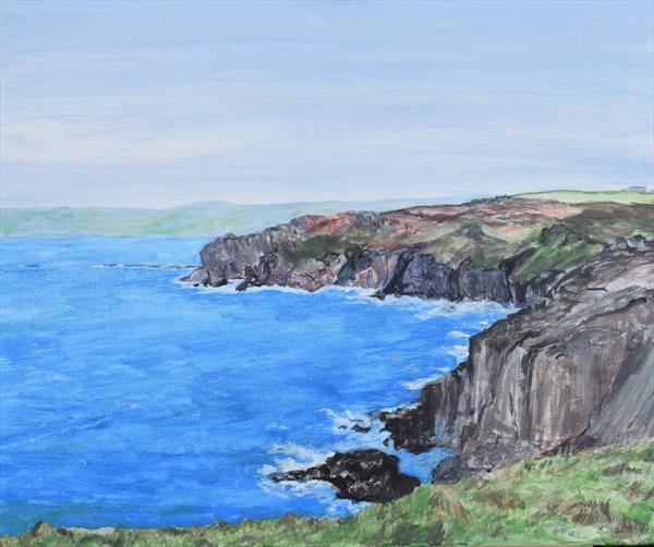 Cornish Cove by Susan  Neate