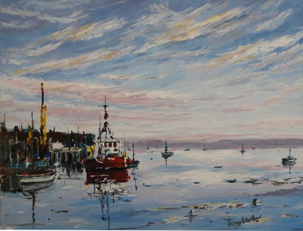 Leigh On Sea by Gerry Ludlow